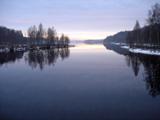 lake at torsby