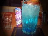 Blue lemonade for one